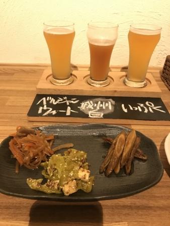 2018/07/29、京都。河原町で夜ごはん。一乗寺ブルワリーの店