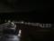 2018/07/29、京都。夜の渡月橋