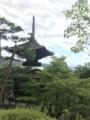 [旅行][京都]2018/07/30、京都。嵐山嵯峨野、常寂光寺