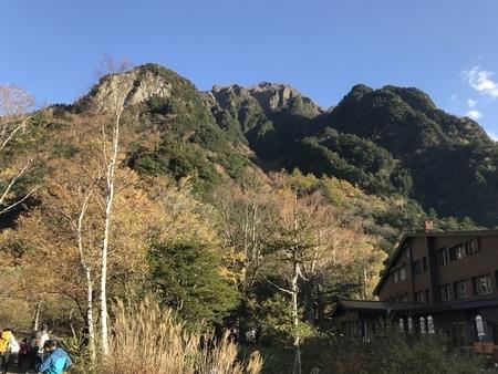 2018/10/21、上高地