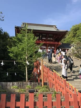 2019/05/03、鎌倉・富岡八幡宮