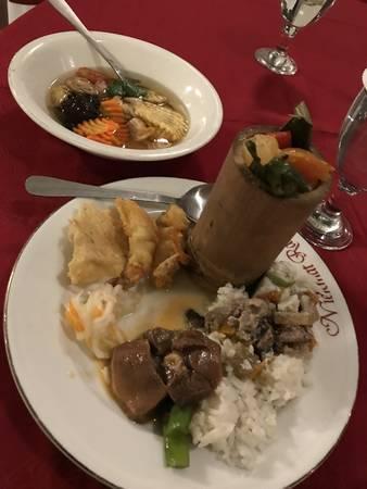 2019/08/20、王宮での夕食