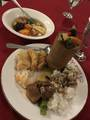 [研修]2019/08/20、王宮での夕食