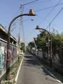 [研修]2019/08/24、チャンティンの形をした街灯