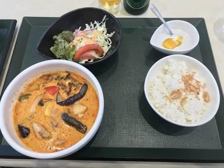 2019/09/08、大阪。民族博物館にてランチ