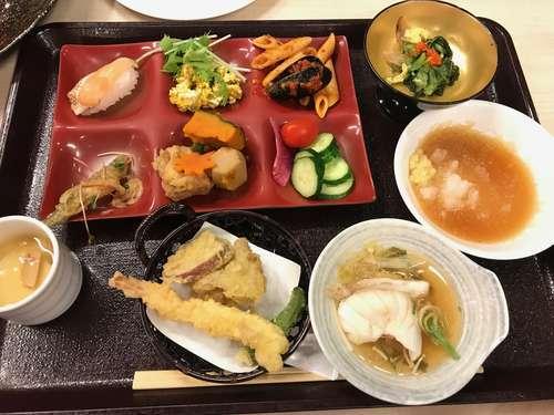 2019/09/08、大阪。箕面観光ホテル、夕食ビュッフェ