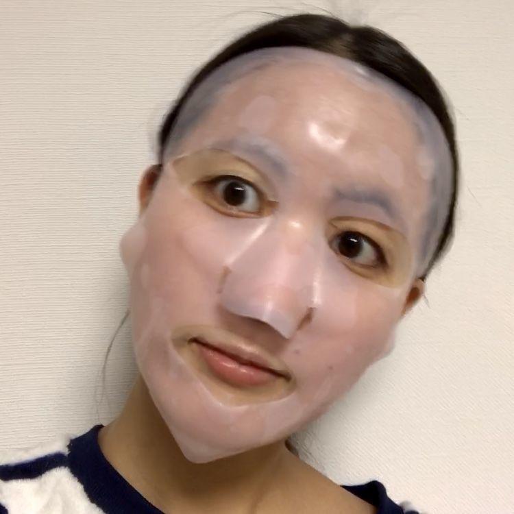 私のきれい日記 アロエマスクにシリコンマスクを重ねた