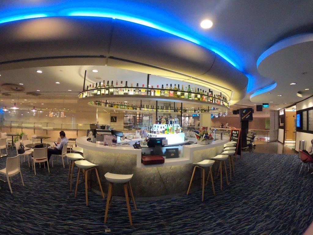 シンガポール空港のバー
