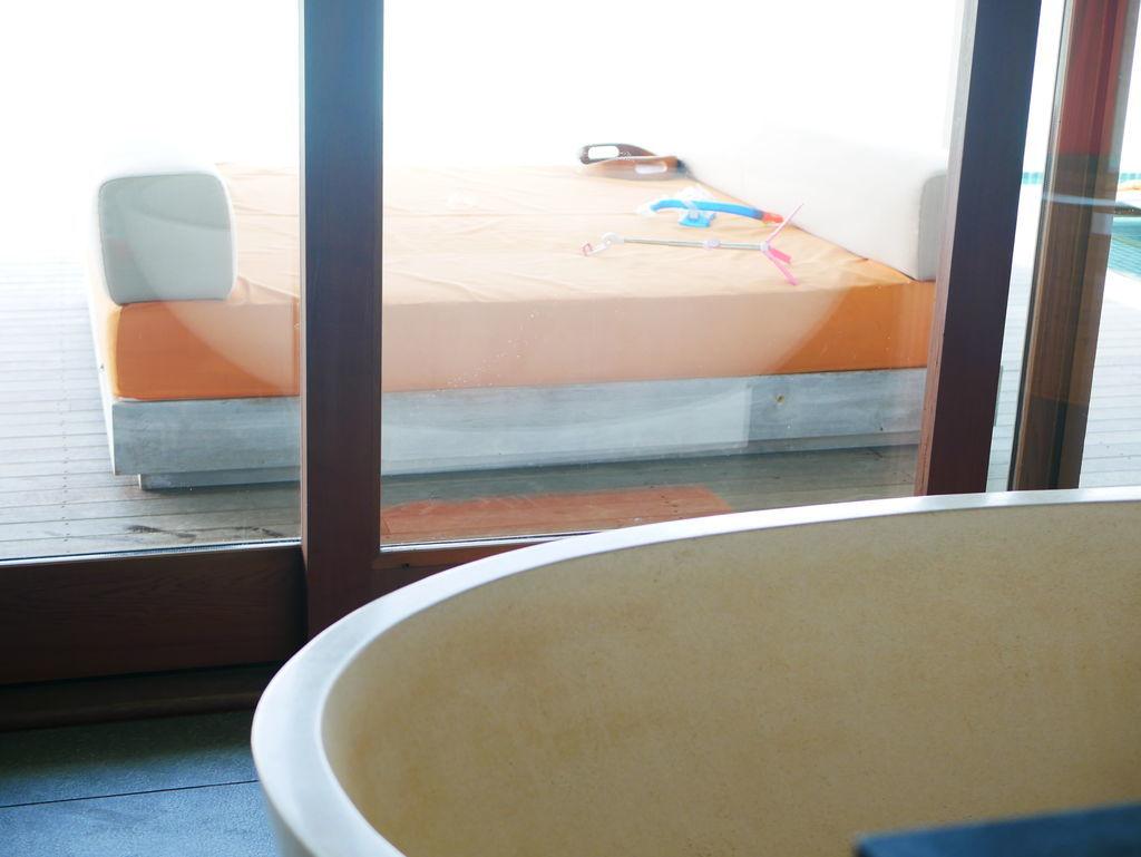 水上ヴィラバスルーム