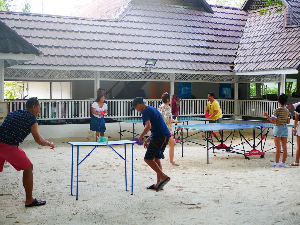 卓球でエキサイト