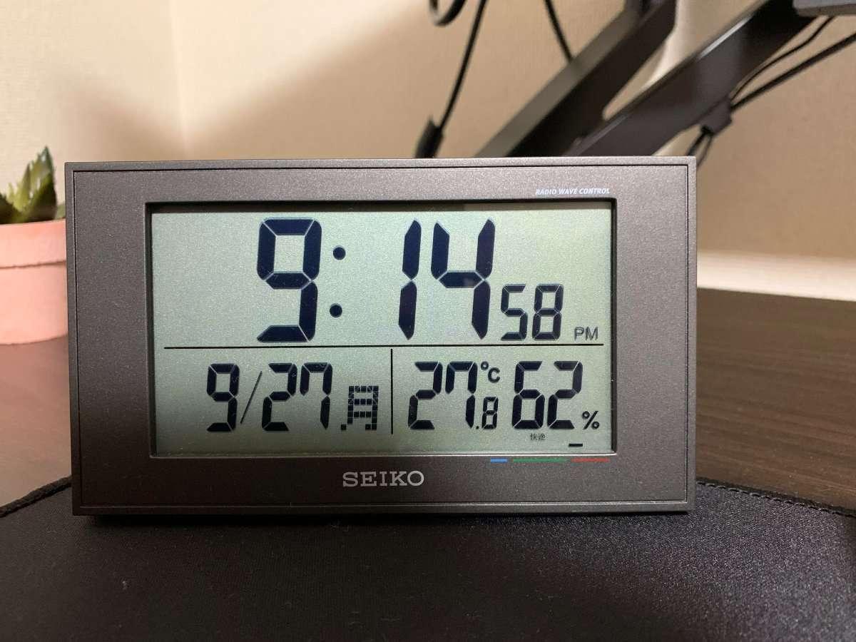 SEIKO置時計 BC402K