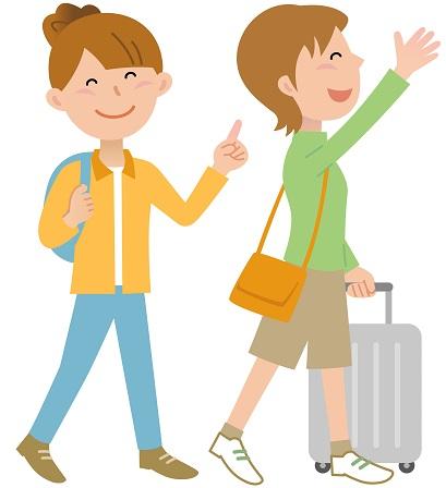 海外旅に出る女子