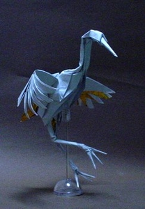 Dancing Crane by R.J.Lang