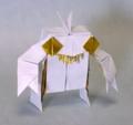 「ロボ」SHUNさん作(openthink.blog.fc2.com/blog-entry-212.html)少しアレンジ