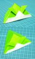 折り紙たんの兜