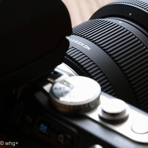 19mm F2.8 EX DN +・・・