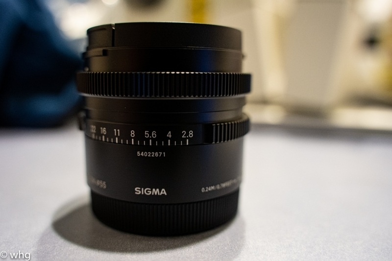 45mm F2.8 DG DN・・