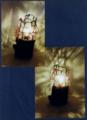 78(スタンド) W13/D13/H22(cm) 素材/木・ガラス・和紙