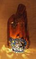 116(スタンド) W24/D20/H45(cm) 素材/木・ガラス・銅版