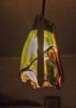 160(ペンダント) W13/D13/H28(cm) 素材/木・ガラス