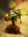 190(スタンド) W15/D15/H22(cm) 素材・木・ガラス