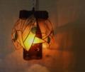 223(ペンダント) W20/D20/H23(cm) 素材・木・ガラス・和紙