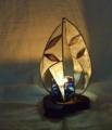 239(テーブル) W18/D13/H25(cm) 素材・木・ガラス・和紙