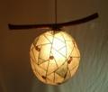 271(ペンダント) W45/D33/H35(cm) 素材・和紙・木・ガラス