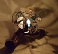 283(フロア) W42/D28/H23(cm) 素材・和紙・木・ガラス