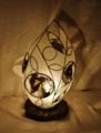 284(フロア) W22/D22/H40(cm) 素材・和紙・木・ガラス