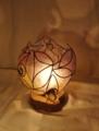 295(テーブル)W15xD15xH16(cm) 素材・和紙・木・ガラス