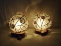 301(テーブル)各W13xD13xH14(cm) 素材・和紙・木・ガラス