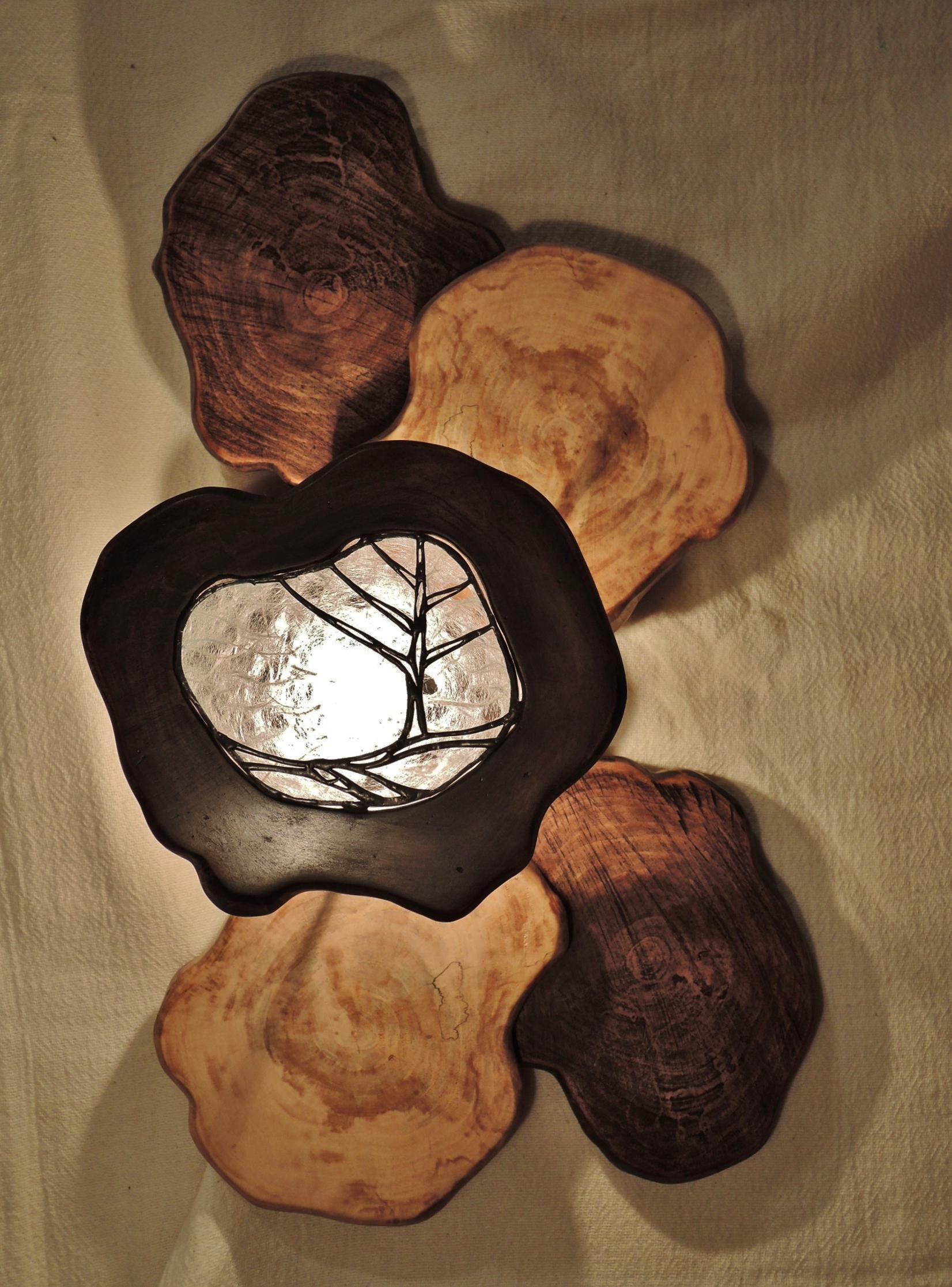 313(ウォール) W25/D13/H25(cm) 素材・木・ガラス・和紙