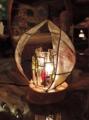 317(テーブル)W18xD18xH25(cm) 素材・和紙・木・ガラス