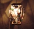 318(ペンダント) W24/D24/H28(cm) 素材・木・ガラス・和紙