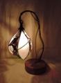 322(テーブル)W23xD15xH33(cm) 素材・和紙・木・ガラス・布