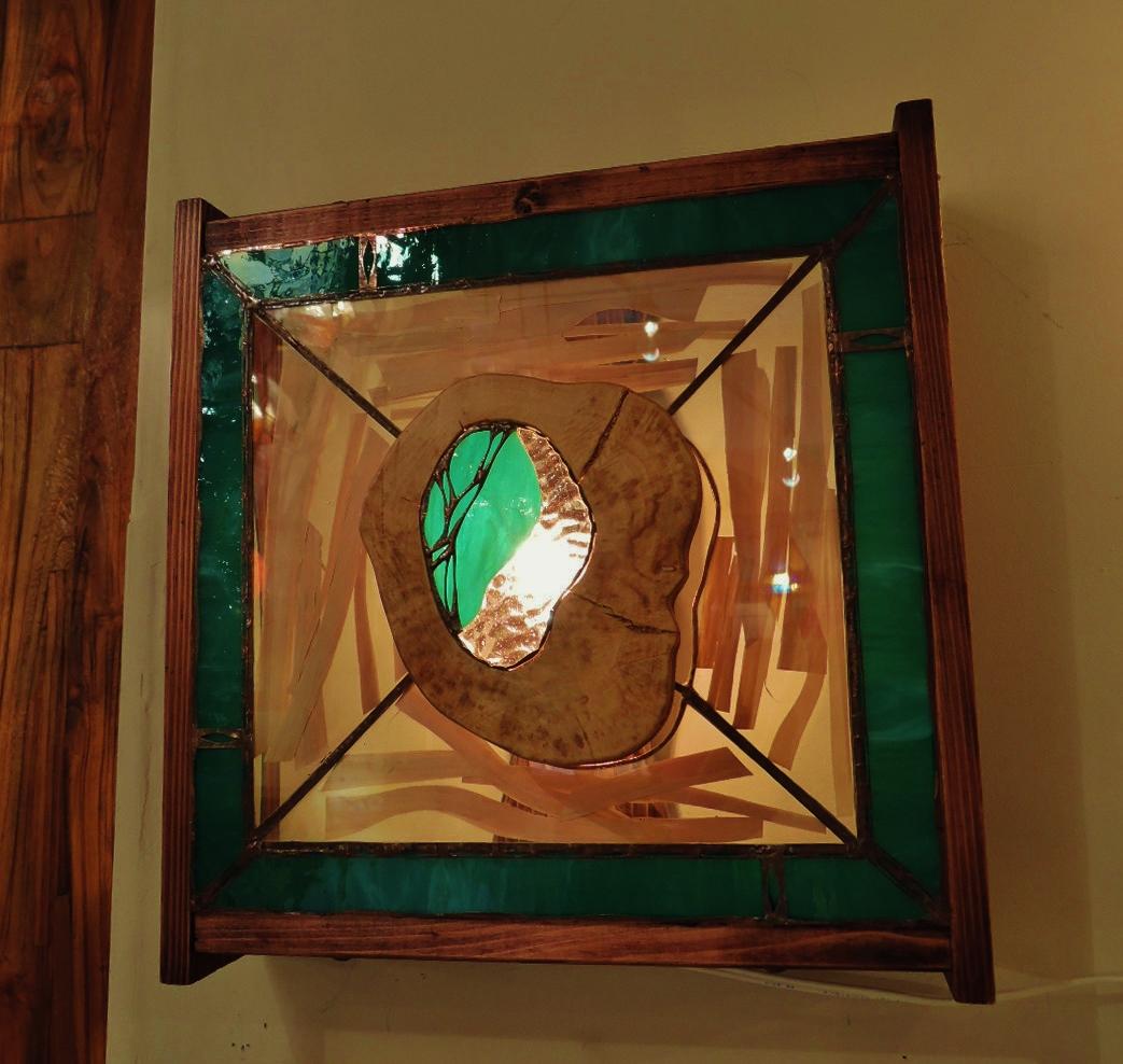 330(ウォール) W34/D15/H35(cm) 素材・木・ガラス