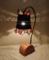 338(テーブル)W14xD17xH30(cm) 素材・木・ガラス・ブリキ