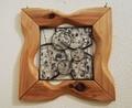 29  W21×D1.5×H21cm/木・ガラス・和紙・金属