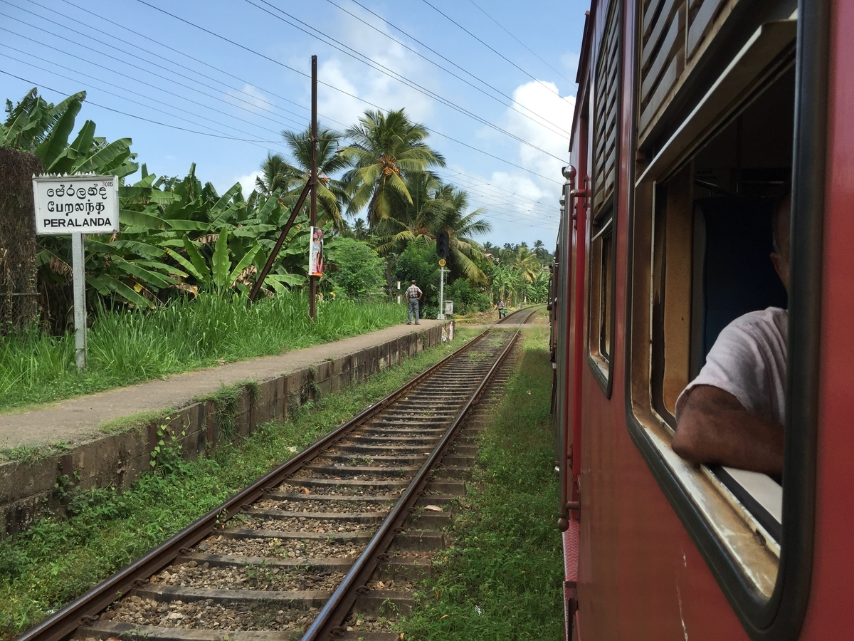 スリランカ sri lanka  travel train 電車