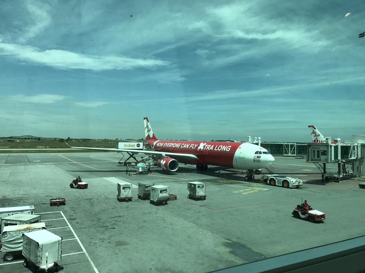 Malaysia マレーシア 旅行 遠距離恋愛 空港 飛行機