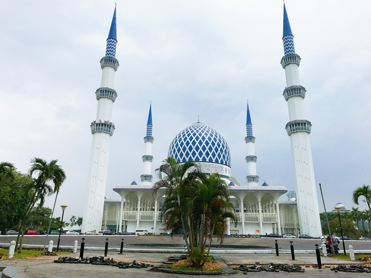 Malaysia マレーシア 旅行 遠距離恋愛 mosque モスク