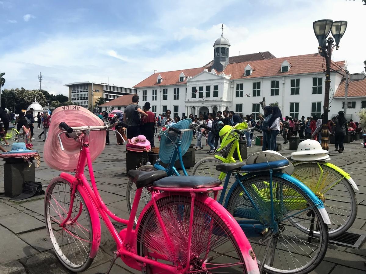 インドネシア Indonesia 観光 自転車