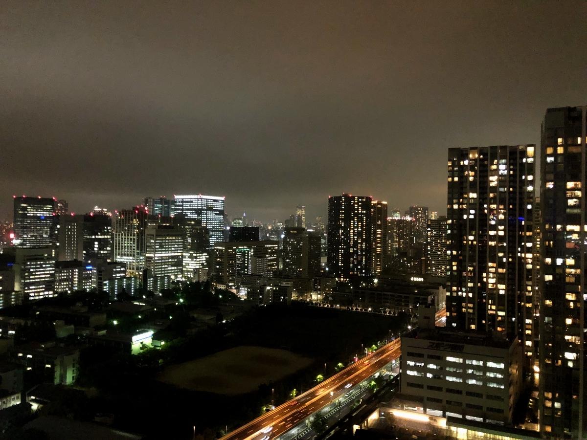 第一ホテル東京シーフォート 鉄板焼「天王洲」 夜景