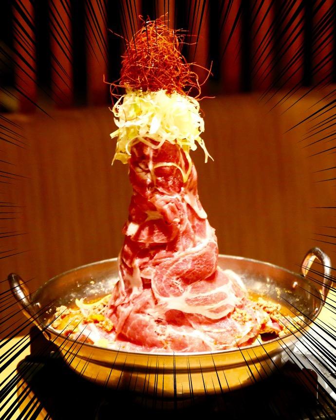九州黒太鼓の肉鍋