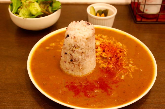 池袋 Ginger&Star cafe たきびカレー