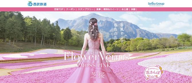 秩父 芝桜の丘 羊山公園 公式サイト