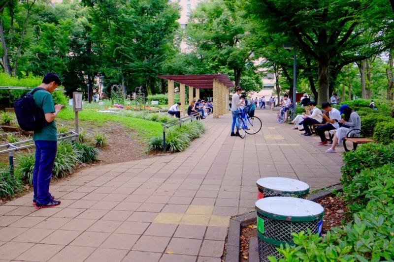 ポケモンGO 新宿中央公園 2