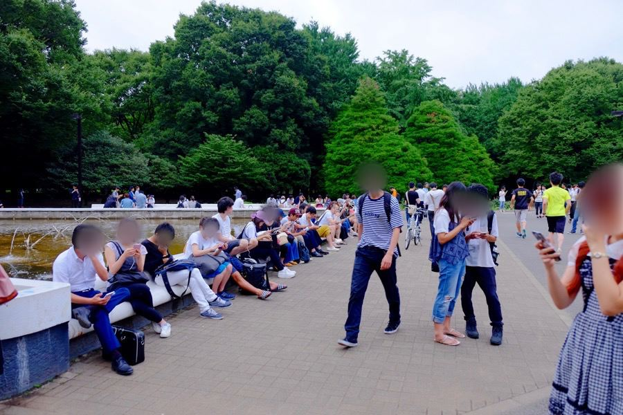 ポケモンGO 代々木公園