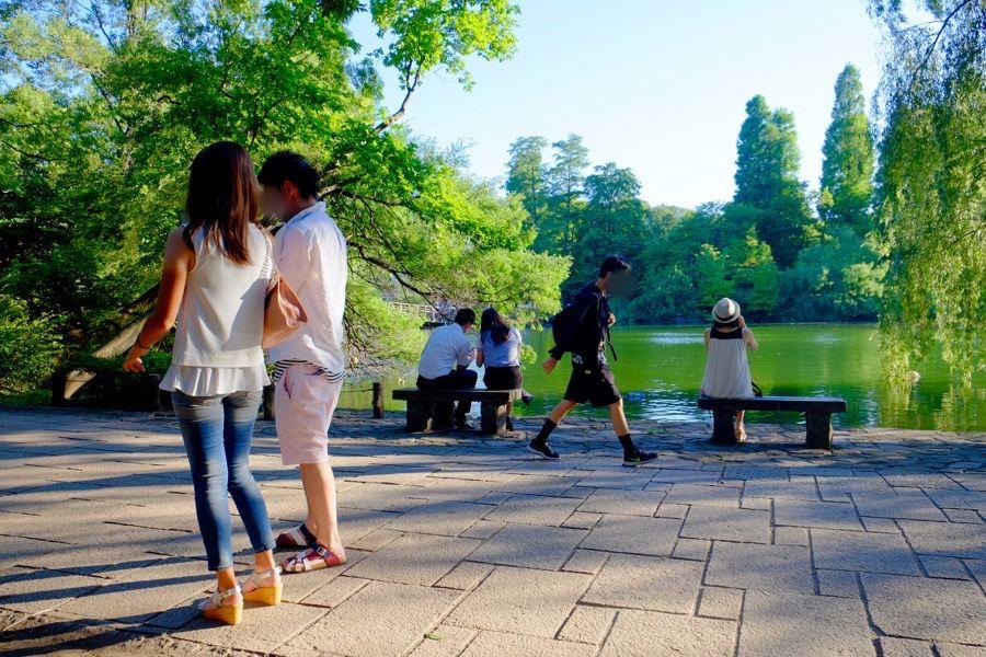 ポケモンGO 井の頭公園 1